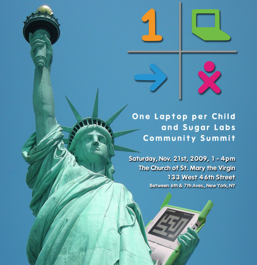 OLPC XO in NYC