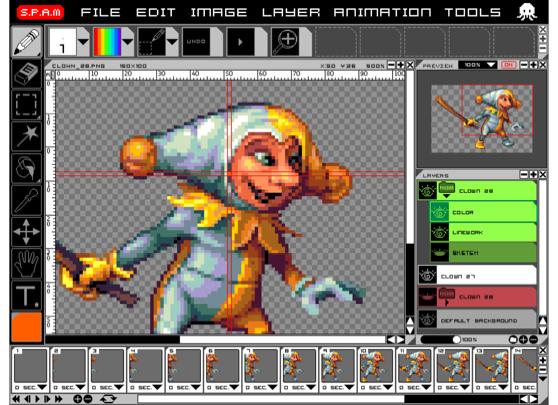 Olpc S P A M Super Pixel Art Maker For Xo Laptop Olpc News